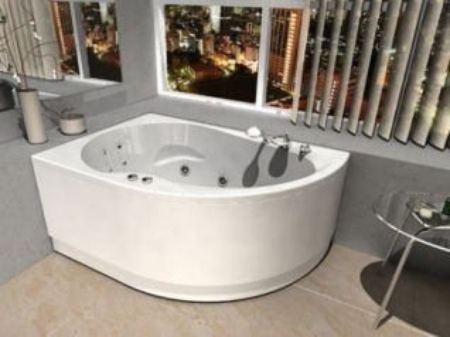Ванна акриловая Aquatek Вирго 150*100 см левая/правая