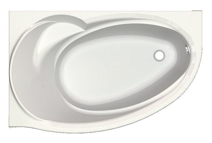 Ванна акриловая Aquatek Бетта 170*97 см, левая/правая
