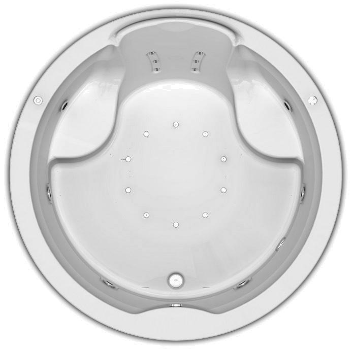 Ванна акриловая Aquatek Аура 180 см