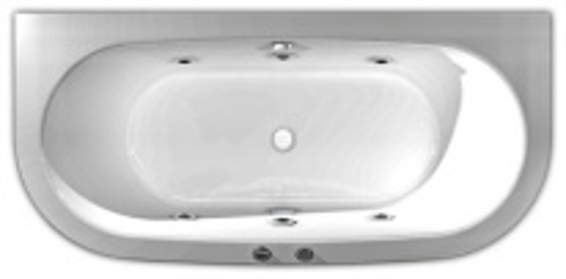 Акриловая ванна Акватек Морфей 190 х 90 см