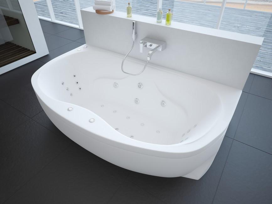 Ванна акриловая Aquatek Мелисса 180*95 см