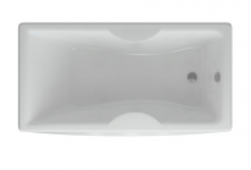 Акриловая ванна Акватек Феникс 160 х 75 см