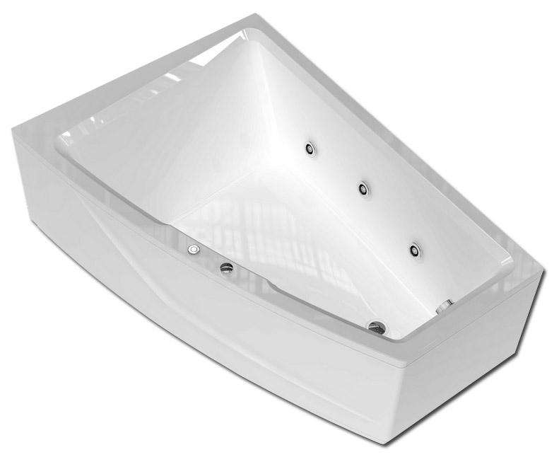 Ванна акриловая Aquatek Оракул 180*125 см