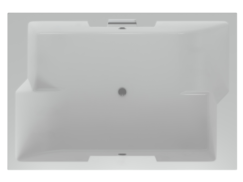 Акриловая ванна Акватек Дорадо 190 х 130 см