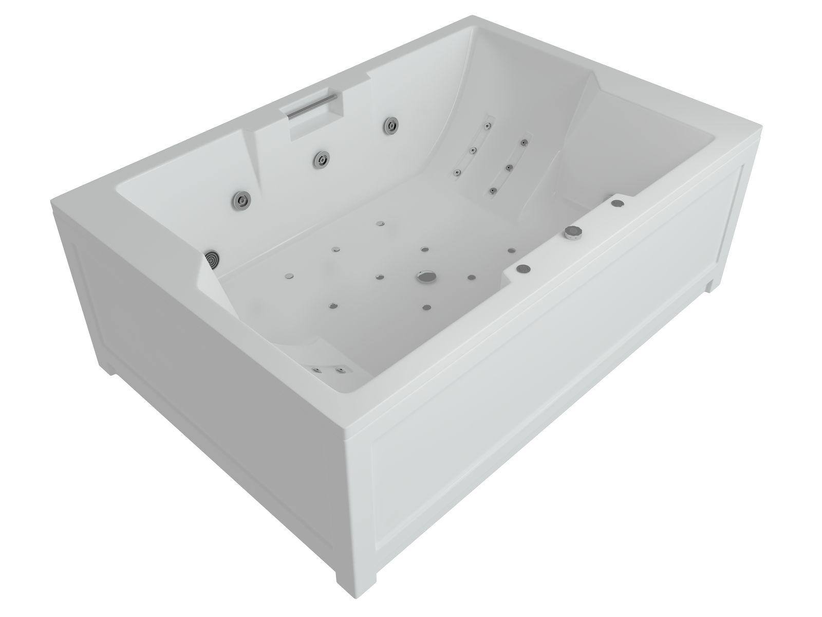Ванна акриловая Aquatek Дорадо 190*130 см