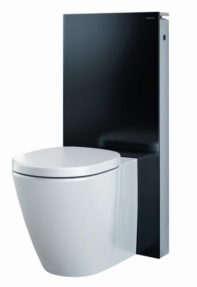 Сантехнический модуль Geberit Monolith Premium 131.001.SJ.1 для напольного унитаза, черный