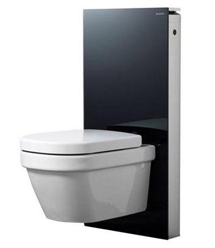 Сантехнический модуль Geberit Monolith Premium 131.021.SJ.1 для подвесного унитаза, черный
