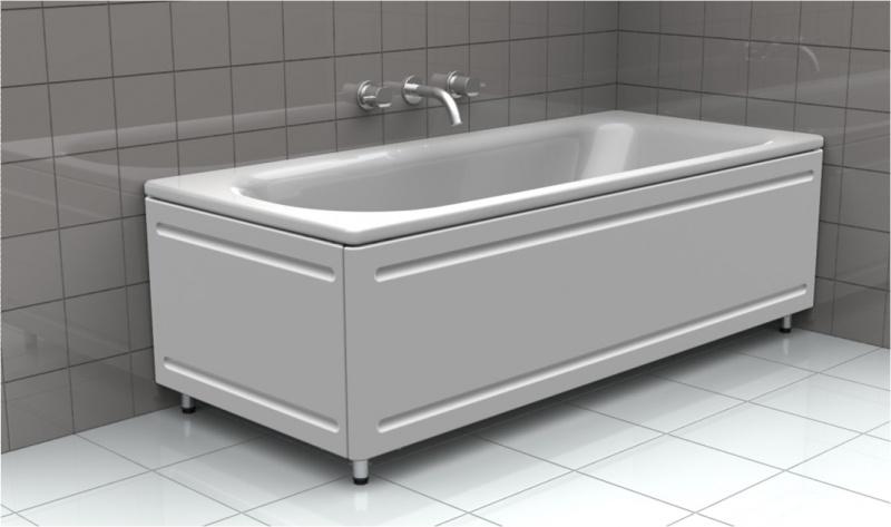 Стальная ванна Kaldewei Eurowa 1195.1203.0001, 140*70*39 см