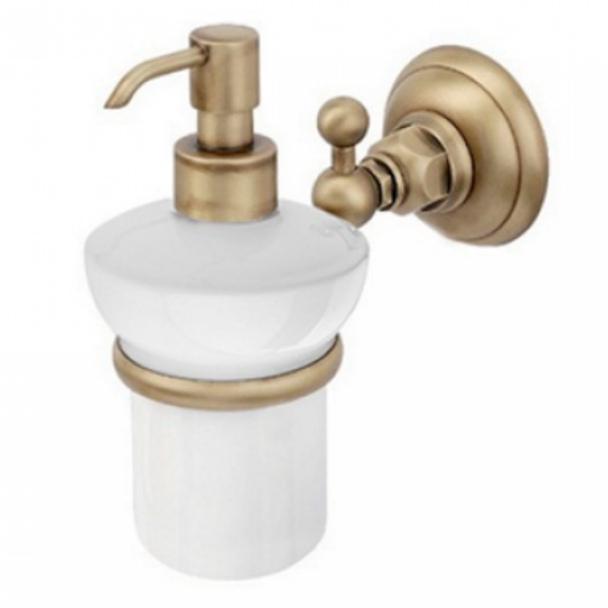 Дозатор для жидкого мыла Nicolazzi Classica 1489 BZ, бронза