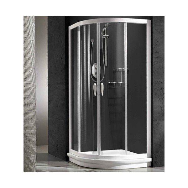 Душевой уголок Relax Danabio 0122132100 100*100 см, стекло прозрачное