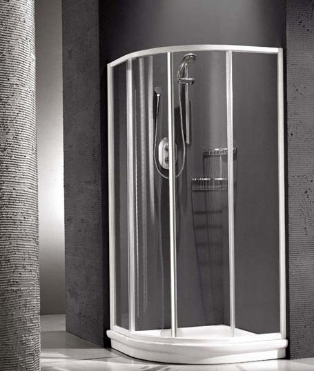 Душевая шторка Relax New Hadis-A 0138150100 90*90 см, стекло прозрачное