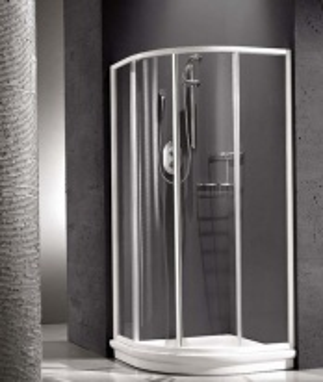 Душевая шторка Relax New Hadis-A 0138150300 90*90 см, стекло акриловое