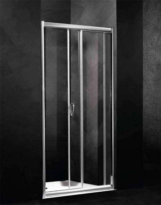 Душевая дверь в нишу Relax Loft-SC1 0142072400/SX 120 см левая, стекло матовое