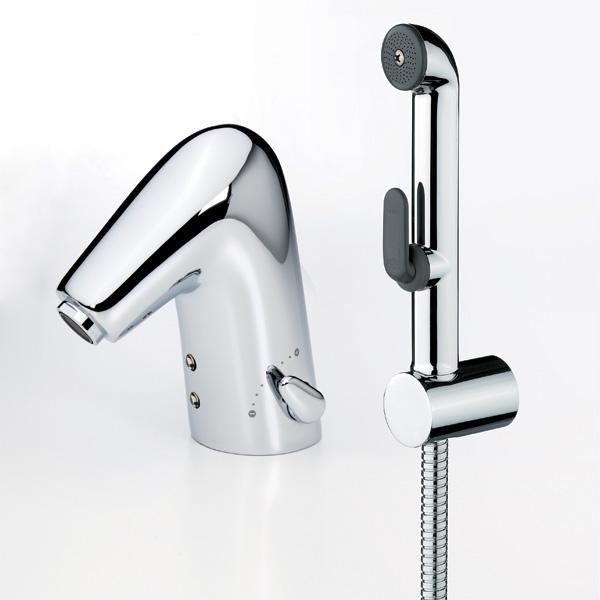 Смеситель Oras Alessi One 8516F для раковины с гигиеническим душем