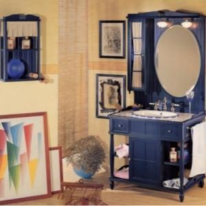 Комплект мебели Eurodesign Green&Roses Композиция №4, цвет Blu Notte/фурнитура хром