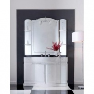 Комплект мебели Eurodesign Hilton New Т0021862 Композиция №1, Bianco/фурнитура золото/без мрамора