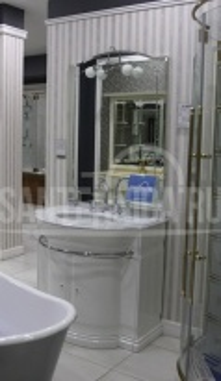 Комплект мебели Eurodesign Hilton New Т0021864 Композиция №5, Bianco/фурнитура золото/без мрамора