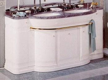 Комплект мебели Eurodesign Hilton New Т0021865 Композиция №6, Bianco/фурнитура хром/без мрамора