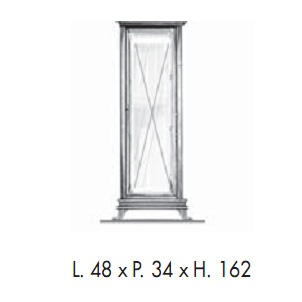 Пенал напольный Labor Legno MARRIOT M 0/11, L/R, 48*34*162 см