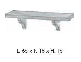 Мебель для ванной комнаты Labor Legno VICTORIA Composizione H 101, орех/бронза, 90 см