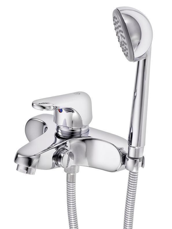 Смеситель Gustavsberg Nordic 41112133 для ванны с душем