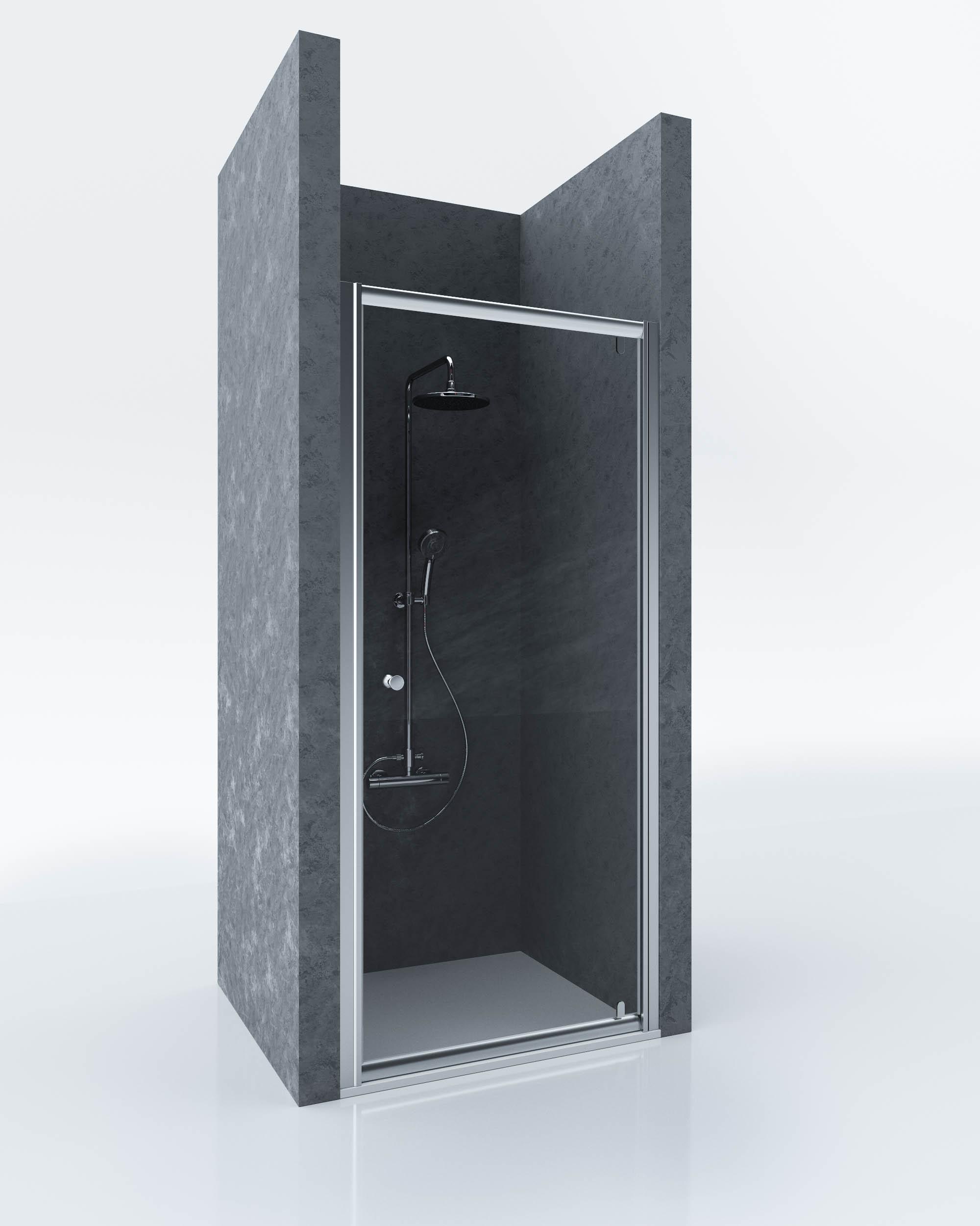 Душевая дверь Sturm Puerta арт. ST-PUER08-NTRCR, 80*185 см