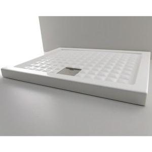 Поддон душевой Axa Thaj арт. 5110001, 90*90*6 см, керамика, белый
