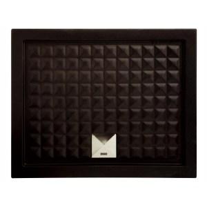 Поддон душевой Axa Thaj, 5110007, 90x90x6 см, керамика, черный