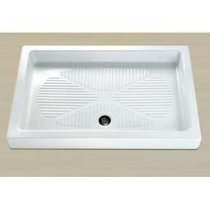 Поддон душевой Axa Piatto арт. 505MX01, 100*80*11 см, керамика