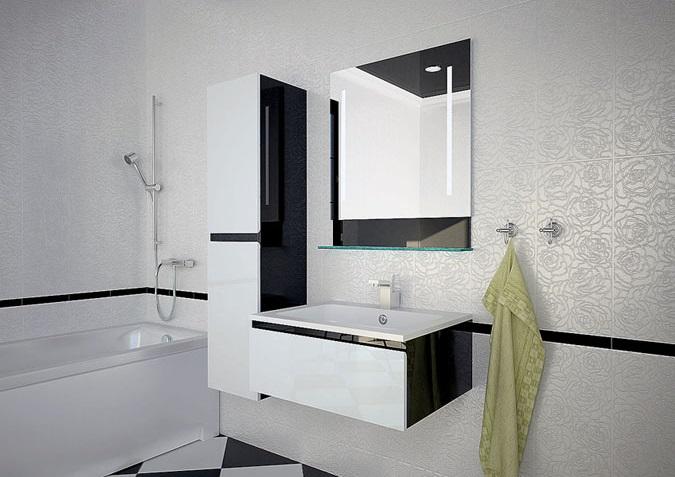 Мебель для ванной комнаты Astra-Form Альфа 70 см