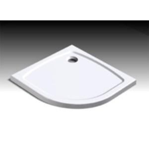 Душевой поддон Huppe Streamline арт. 250202.055, 90*90*h4 см, R500 с сифоном и ножками