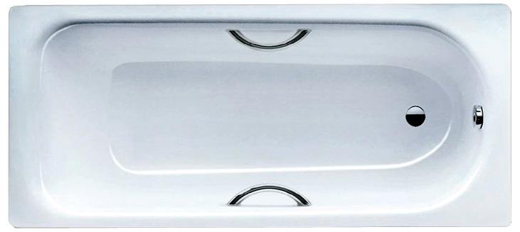 Стальная ванна Kaldewei Saniform Plus Star мод. 331, 150*70*41 см, с отверстиями для ручек