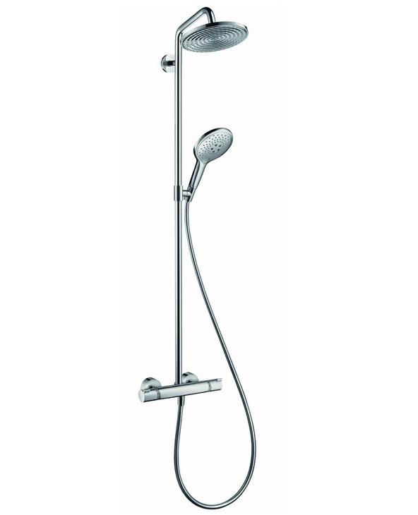 Душевая система Hansgrohe Raindance Select Showerpipe 240 27115000, Ø 240 мм
