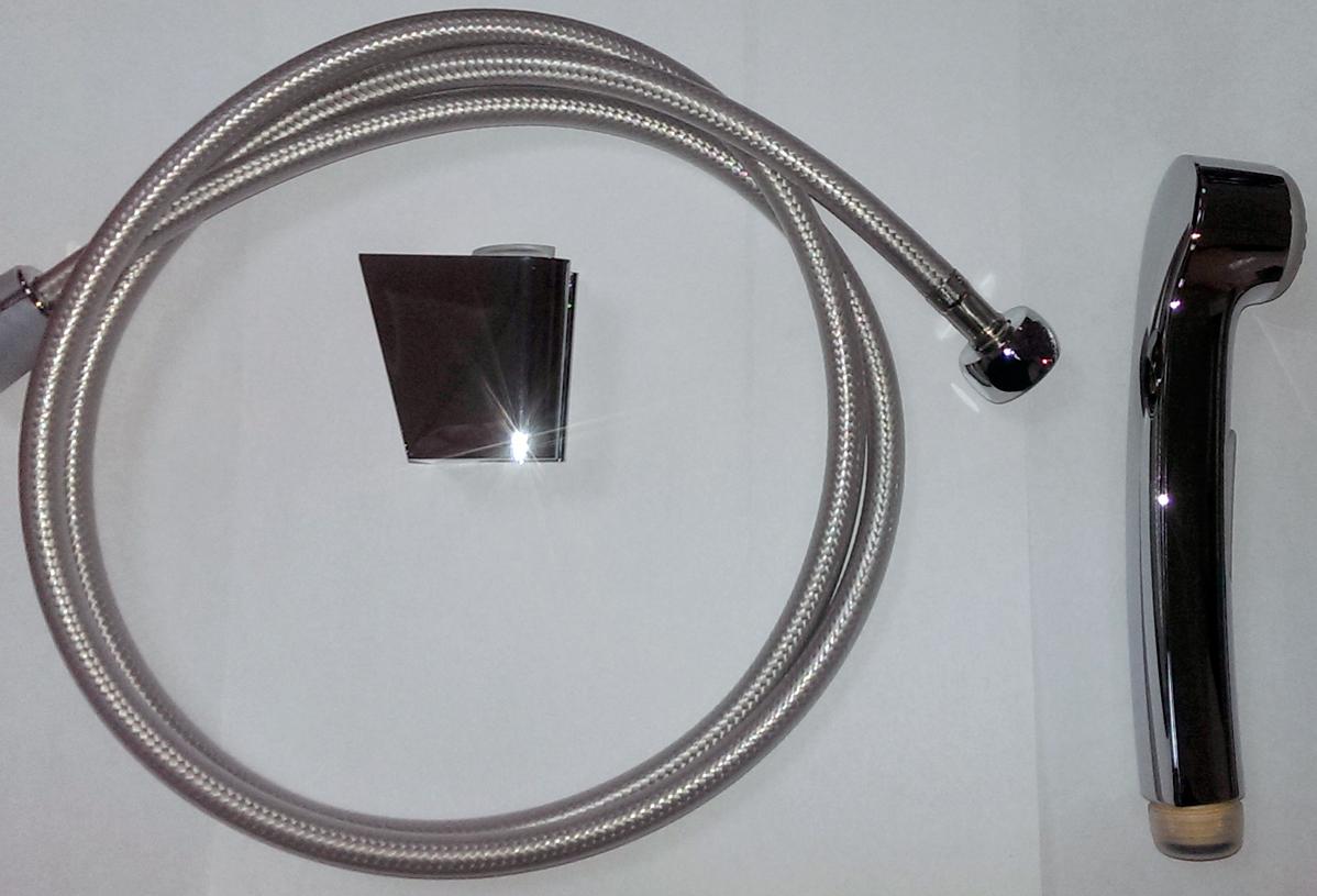 Гигиенический гарнитур Hansgrohe Bidette 32129000, 125 см