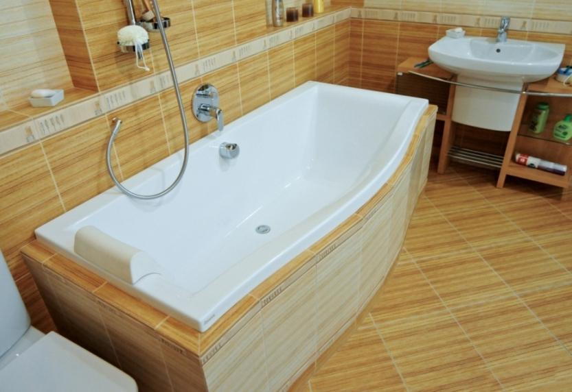 Акриловая ванна Ravak Magnolia 180x75, арт.С601000000