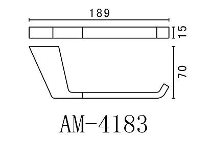 Бумагодержатель Art&Max Techno AM-4183