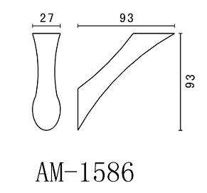 Крючок Art&Max Elegant AM-1586