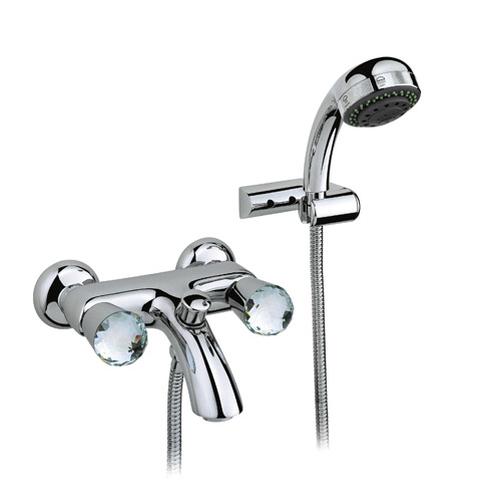 Смеситель Nicolazzi Cristallo 2002CR22 для ванны и душа