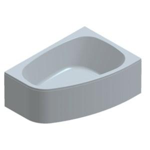 Ванна акриловая Kolpa-San Chad 170*120 L/R (левая/правая)
