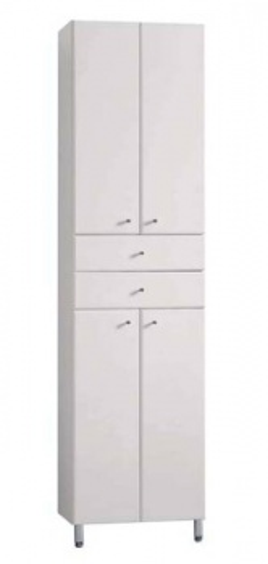 Шкаф-колонна двустворчатый Акватон СИМПЛ арт. 1A122303SL010
