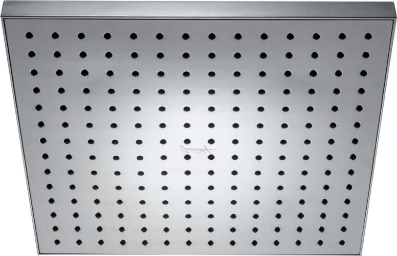 """Верхний душ Jacob Delafon EO E3875-CP, квадратный, хром, 1/2"""", 280*280 мм"""