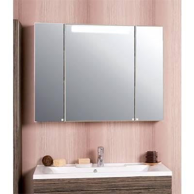 Зеркальный шкаф Акватон МАДРИД 100 1116-2.SV со светильником