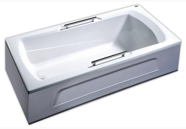 Ванна акриловая Appollo, арт. TS-1702Q с ручками, 170*75