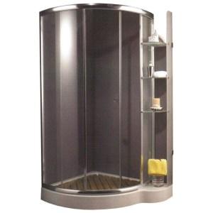 Душевой уголок Appollo TS-685/686, 112 х 96 х 185 см, стекло прозрачное