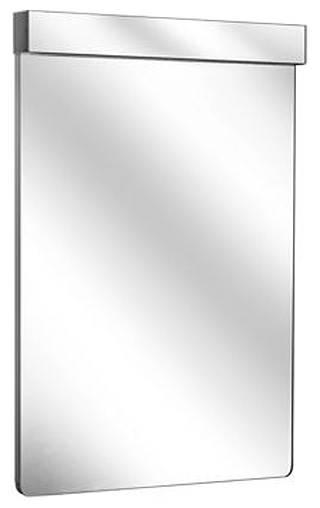 Зеркало с подсветкой Keuco Elegance New арт. 11697 011500, горизонтальный светильник, белый, 36*70,5*6,6 см
