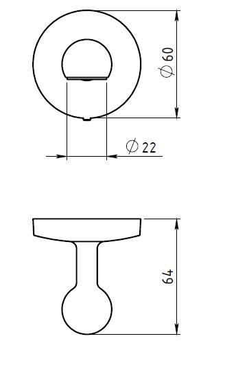 Держатель мыла магнитный Novaservis Novatorre 1 6141.0