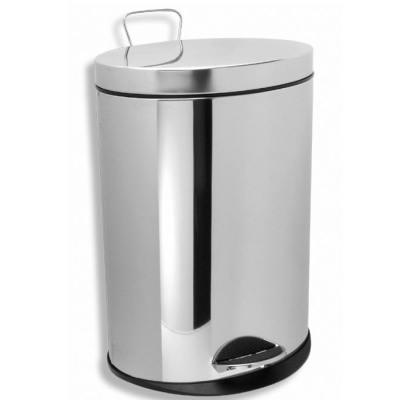 Корзина для мусора Novaservis Novatorre 1, арт. 6161.0, 12л, хром