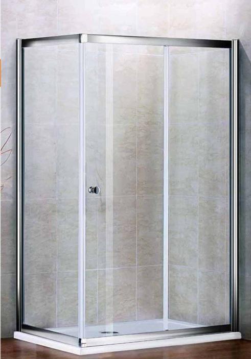 Душевой уголок Cezares арт. PRATICO-AH-1-100/80-Cr, профиль-хром