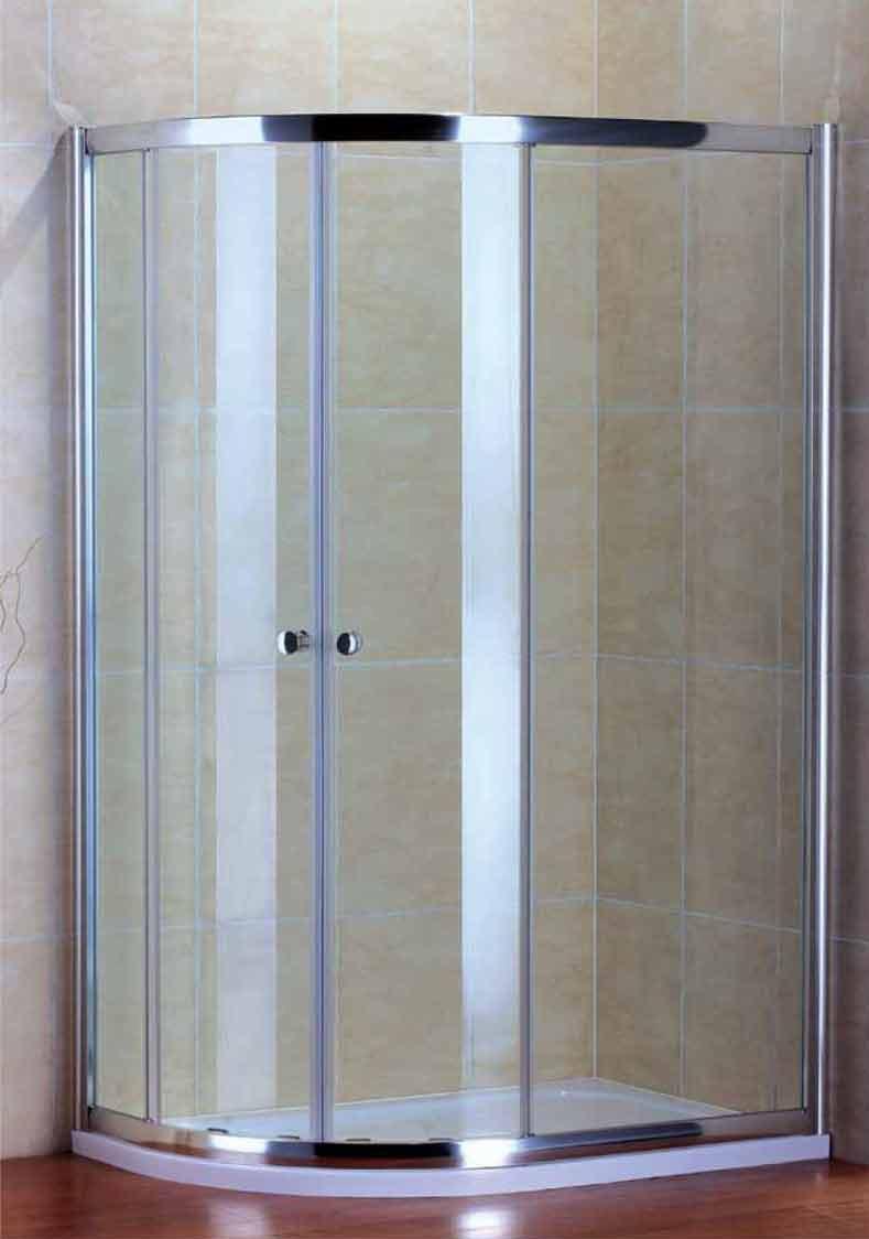 Душевой уголок Cezares PRATICO-RH-2-100/80-Cr, профиль-хром