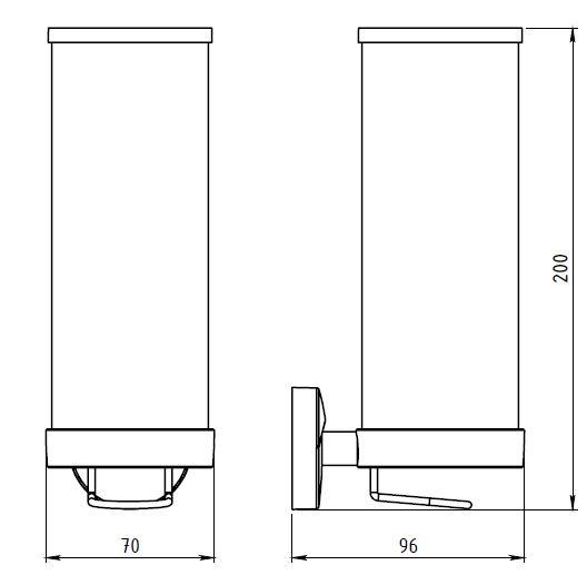 Контейнер для тампонов Novaservis Novatorre 11 0172.0